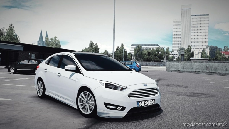 Ford Focus 3.5 [Hatchback – Sedan] [1.37] for Euro Truck Simulator 2
