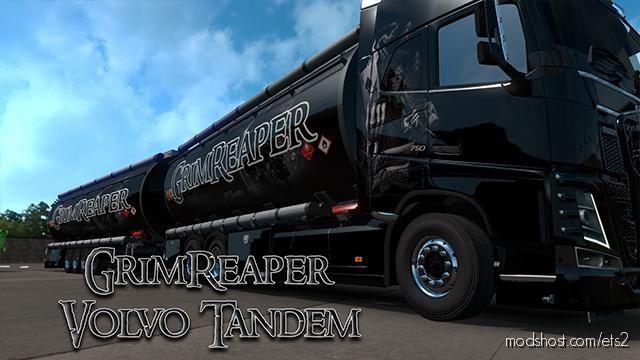 Grimreaper Volvo Tandem for Euro Truck Simulator 2