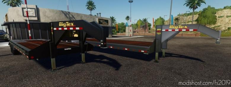 Bigtex 22Gn/Ph Trailer V2.1 for Farming Simulator 19