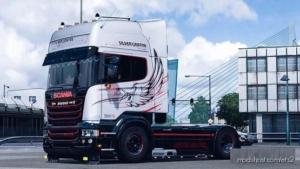 Scania Silver Griffin for Euro Truck Simulator 2
