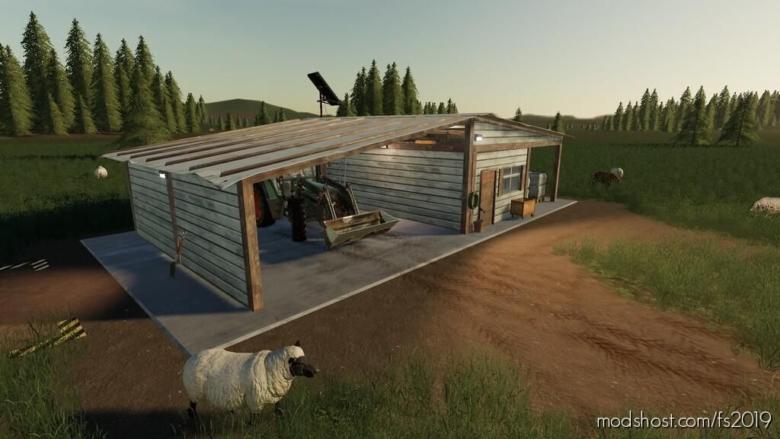 Open Sheep Pasture for Farming Simulator 19