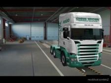 Chris Brown Scania RJL Skin for Euro Truck Simulator 2