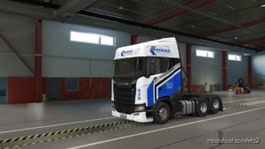 Premier Logistics Skin Scania S2016 By Modsbytaku for Euro Truck Simulator 2