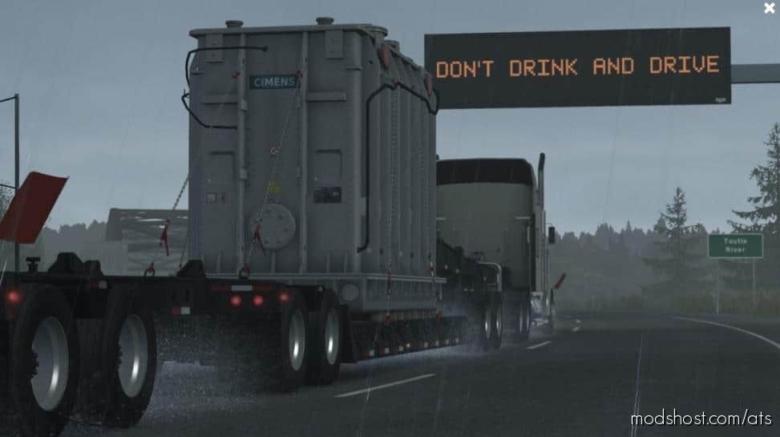 Realistic Rain V3.5.1 [1.37.X] for American Truck Simulator