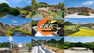 Extreme Road Fever: ERF Map [1.36 & 1.37] for Euro Truck Simulator 2