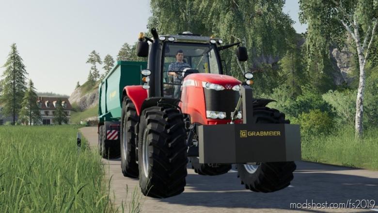Grabmeier Gewichte for Farming Simulator 19
