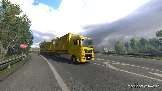 BDF Tandem Truck Pack V137.20 [1.37] for Euro Truck Simulator 2