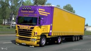 Scania RJL Martin Snel Combo Skin Pack [1.37.X] for Euro Truck Simulator 2