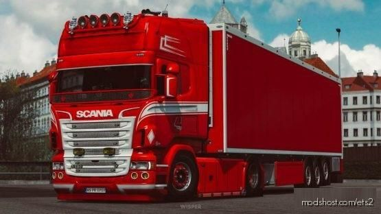Cinematic Camera Mod for Euro Truck Simulator 2