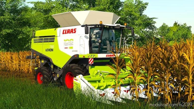Claas Lexion 700 Pack for Farming Simulator 19