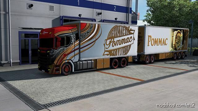 Tandem Ristimaa Rommac for Euro Truck Simulator 2