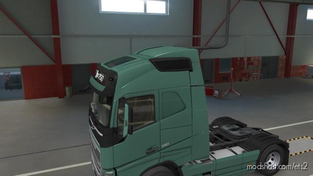 Volvo FH Globetrotter Spoiler for Euro Truck Simulator 2