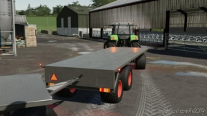 Flatbed Trailer for Farming Simulator 19