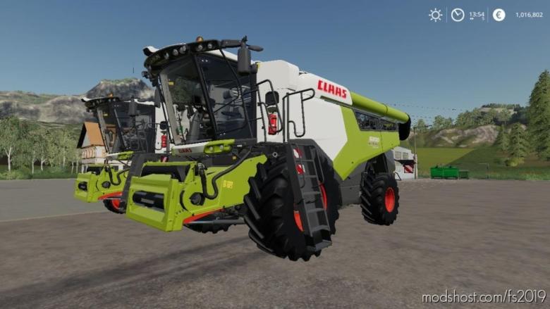 Claas Lexion Series V2.0 for Farming Simulator 19