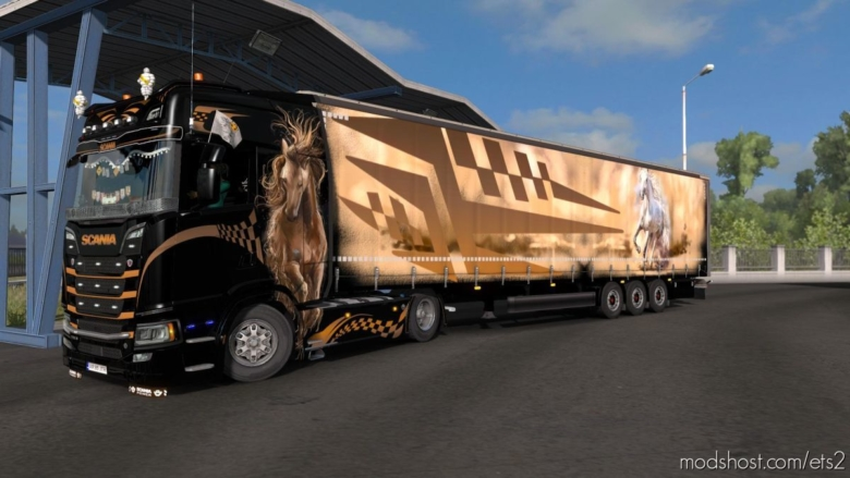 Wild Combo Skinpack for Euro Truck Simulator 2
