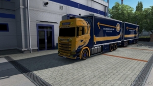 Tandem Malmbergs for Euro Truck Simulator 2