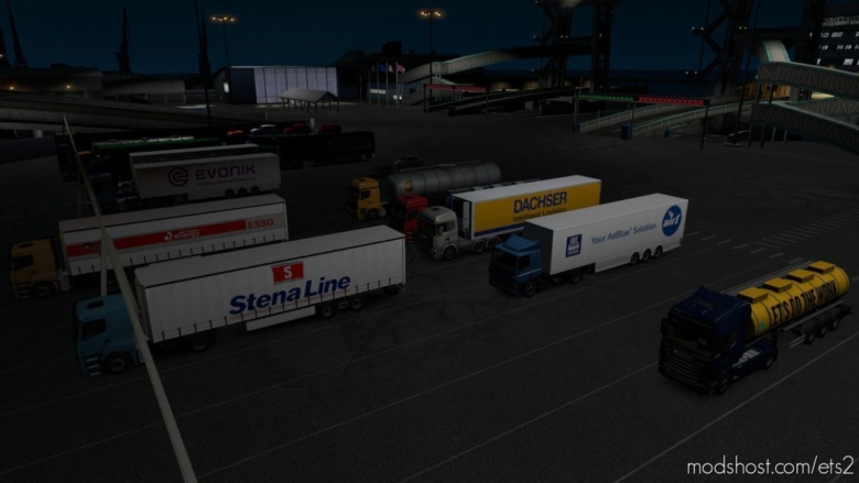 Real European Companies Reloaded 07.06.2020 [1.37] for Euro Truck Simulator 2
