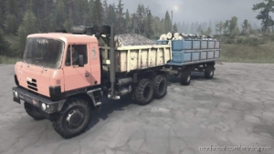 Tatra 815 Truck V07.06.20 for MudRunner