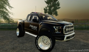 2017 Ford Raptor Police Edition for Farming Simulator 19