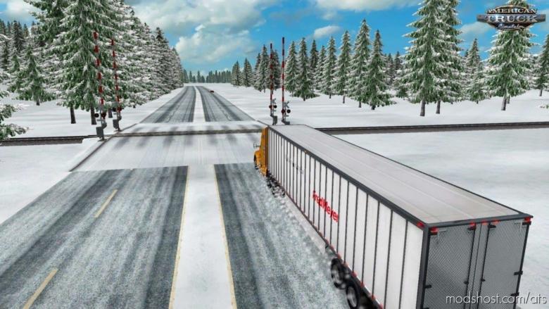 Dalton And Elliot Extreme – Winter Edition V2.0 for American Truck Simulator