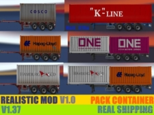Real Shipping Mod And Real Cargo Pack for Euro Truck Simulator 2