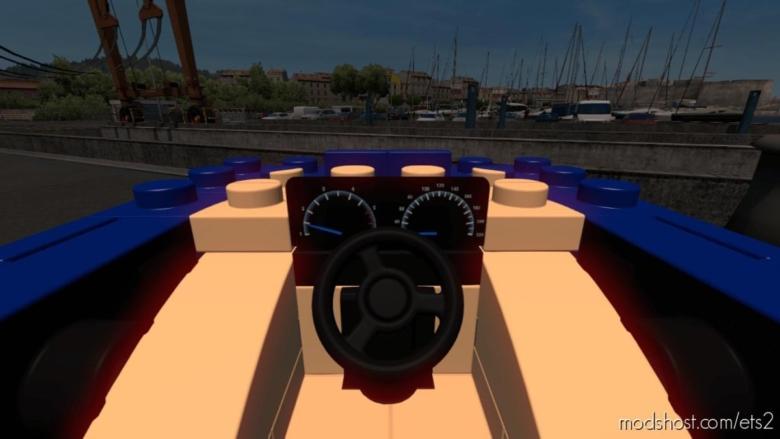 Bugatti Chiron Lego CAR [1.37] for Euro Truck Simulator 2