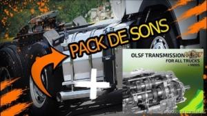 Pack Open Pipe + Transmissions V2.1 for Euro Truck Simulator 2