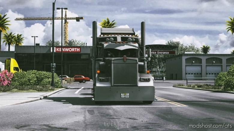 Cinematic Camera For ATS for American Truck Simulator