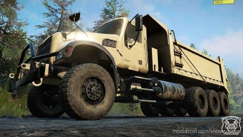 Mack Defense M917A3 V1.1.0 for SnowRunner