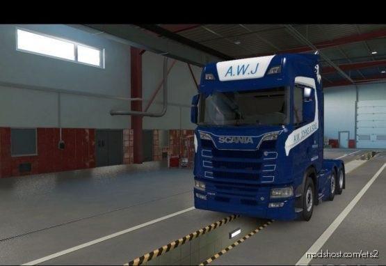 AW Johns Next GEN S Skin for Euro Truck Simulator 2