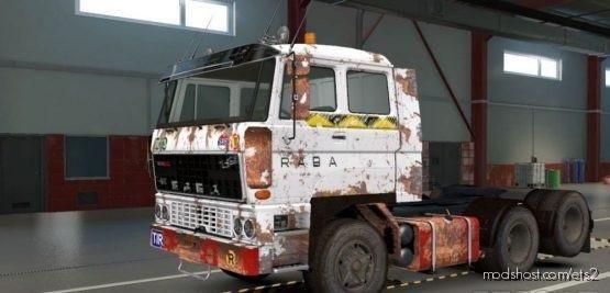 DAF F241 Wood Transport Skin for Euro Truck Simulator 2