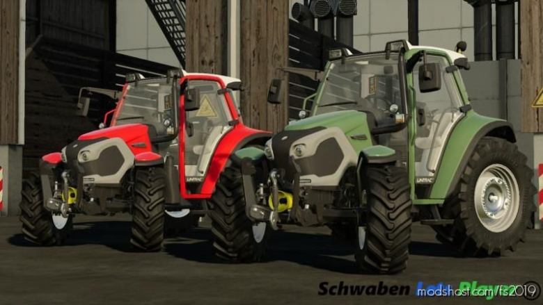 Linder Lintrac 90 Fixed V1.5 for Farming Simulator 19