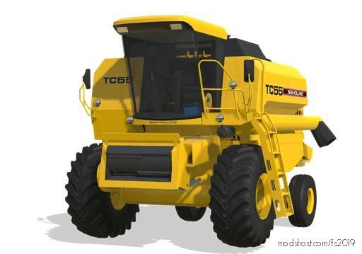 NEW Holland TC 55 for Farming Simulator 19