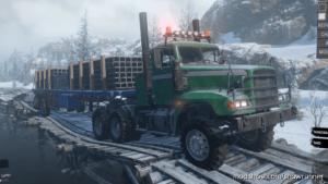M916A3 Light Equipment Transport V1.0.1 for SnowRunner