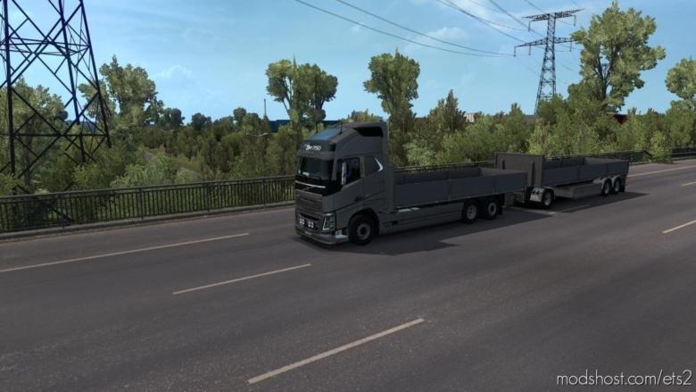 BDF Tandem Truck Pack V137.25 [1.37] for Euro Truck Simulator 2