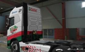 Volvo FH 2012 Castrol Paintjob for Euro Truck Simulator 2