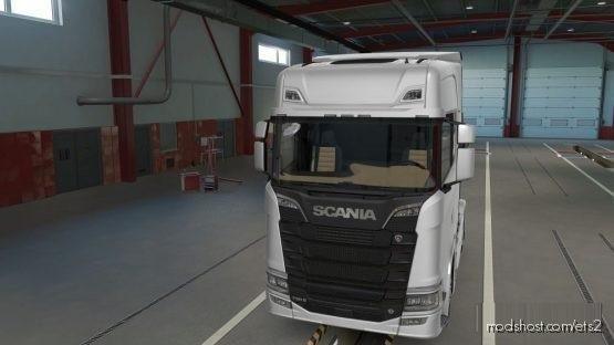 Scania Nextgen R&S Cremebeige Interior for Euro Truck Simulator 2