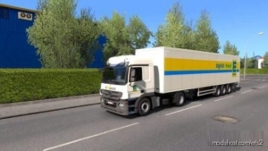 Edeka Comboskin Actros MP3 for Euro Truck Simulator 2