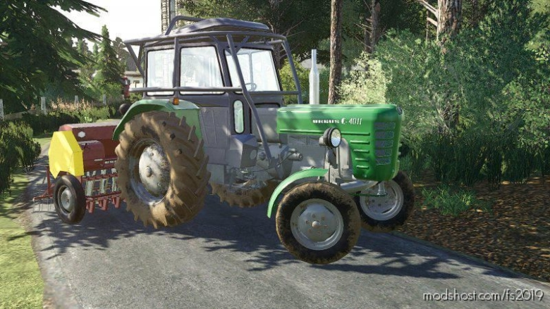 Ursus C-4011 By Verty for Farming Simulator 19