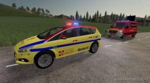 Ford S MAX Notartzt NEF ASB for Farming Simulator 19