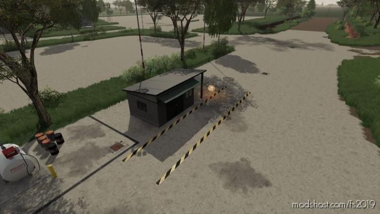 Workshop With AN Enlarged Trigger V1.1 for Farming Simulator 19