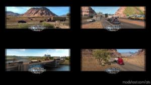 Loading Screen 1.25 for American Truck Simulator