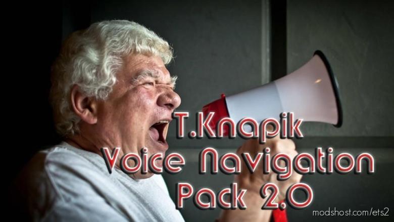 T.knapik Voice Navigation Pack V2.0 for Euro Truck Simulator 2