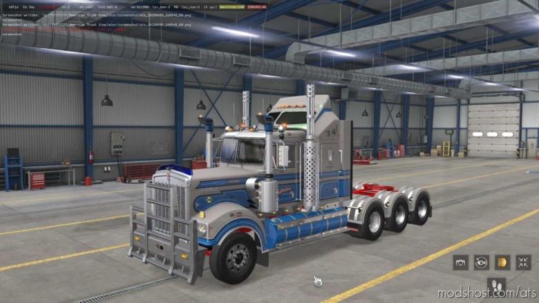 Kenworth T900 Legend Truck [1.37] for American Truck Simulator