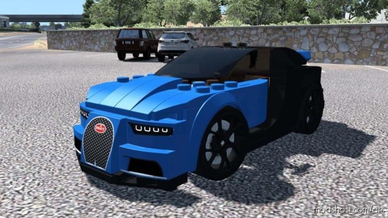 Bugatti Chiron Lego CAR [1.37] for American Truck Simulator