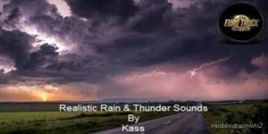 Realistic Rain & Thunder Sounds V3.0.2 for Euro Truck Simulator 2