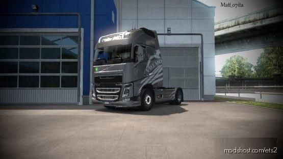 Volvo FH 2012 Corbel Transport Style – Metallic – for Euro Truck Simulator 2