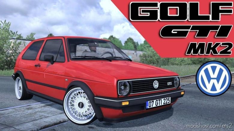 Volkswagen Golf GTI MK2 [1.37] for Euro Truck Simulator 2