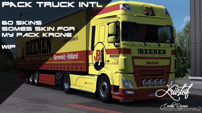 Kriistof Addon Pack Krone V2.5 [1.37] for Euro Truck Simulator 2