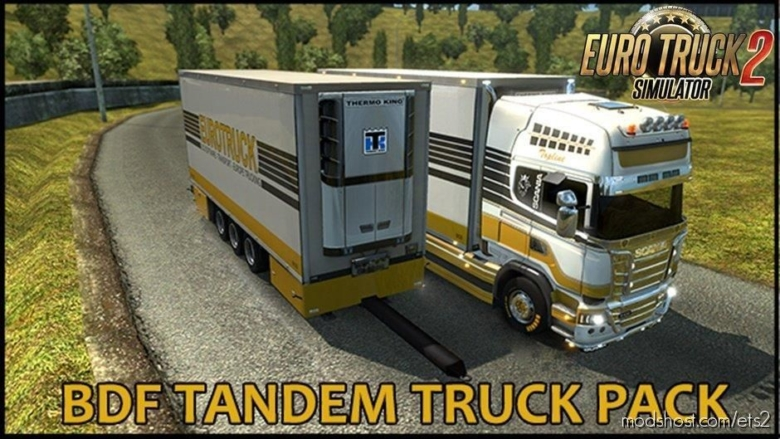 BDF Tandem Truck Pack V137.28 [1.37] for Euro Truck Simulator 2